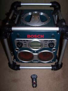 "LIKE NEW ""BOSCH"" PB-10C-CD POWER BOSS with REMOTE"