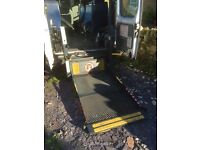 Ricon wheel chair tail lift