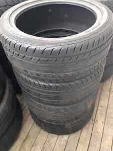 Four 235/45R18 Summer Tires