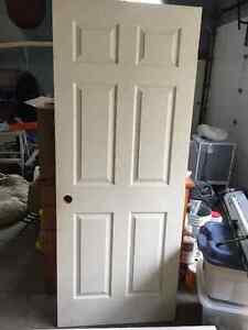 six panel interior door