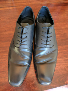 Like New -Black Aldo Dress Shoes-size 11