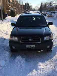 2005 Subaru Forester 2.5 X Autre/ shine for summer
