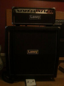 Laney LH50 III (Built in Attenuator) + Laney Cab 4x12