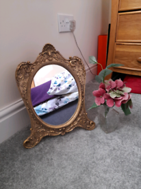 French Baroque Style Table Mirror