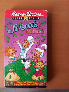 Hanna Barbera Superstars Jetson's Millions VHS video
