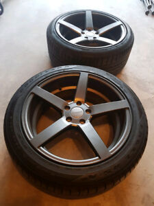 """Ruffino Boss Wheels 19"""" 5x114.3 with Tires"""
