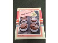 Mini desserts recipe book