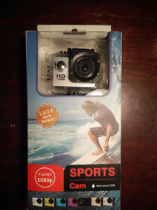 Action Camera 1080p Waterproof GoPRO Clone *NEW IN BOX