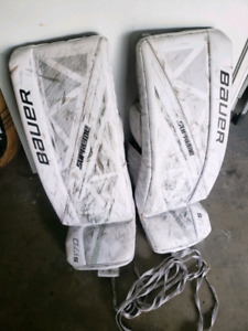 Bauer 1s Goalie Pads | Buy or Sell Hockey Equipment in