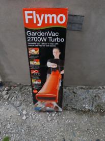 Garden blower/vac, flymo
