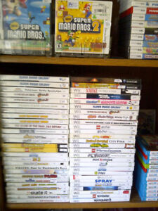 Nintendo Wii games & also DS, 3DS, NES SNES (updated Sept 21/18)