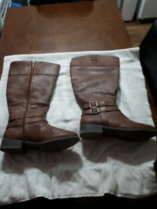 Brown  Boots, Size 11w
