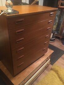 Schreiber 6 drawer Retro chest