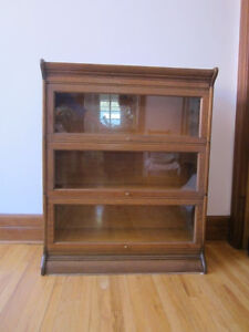 Bibliotheque a etage Chene Circa 1910-20 Oak Section Bookcase