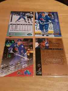 Joe Sakic 4 card lot  Kitchener / Waterloo Kitchener Area image 2
