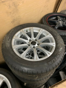 "BMW Winter Pack 18"" Wheels+Tires Used (Set of 4)"