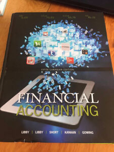 Financial Accounting Fifth Canadian Edition