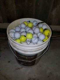 50 Assorted golf balls