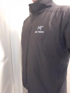 Mens Large Black Arcteryx AR Jacket