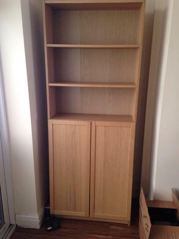 Ikea Billy Cupboard Doors : Ikea Billy Bookcase Cabinet Unit with doors  in Middleton, Manchester