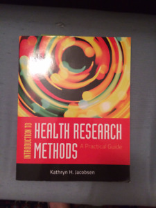 HLSC 2P27 Research Methods