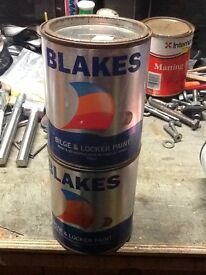 Yacht or boat , bilge paint, by Blakes, light Red