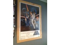 Star Wars cinema poster