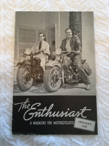 The Enthusiast magazine for motorcyclists January 1943