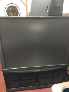 RCA projection TV