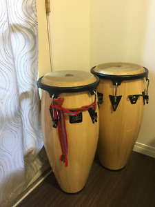 LP Aspire wood congas