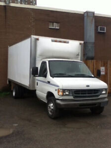 2001 Ford E-450 16' cube truck