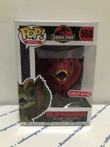 Funko POP! Dilophosaurus Red Target Exclusive Jurassic Park
