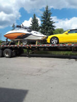 Mike's Auto Haulers: Open/Enclosed Trailers. Hauling Specialist