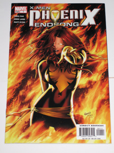 X-Men: Phoenix Endsong#'s 1,2,3,4 & 5 complete set! comic book