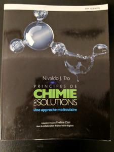 Principes de CHIMIE DES SOLUTIONS : Une approche moléculaire