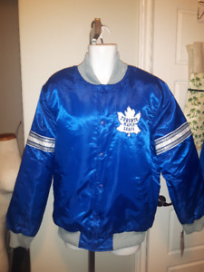 Brand New with Tags TORONTO MAPLE LEAFS Carl Banks G 111 jacket