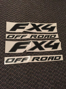 Ford FX4 Decals/Stickers (2 Sets)