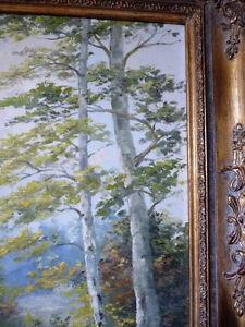Landscape, T. Eaton's Fine Arts Department Original Oil Painting Stratford Kitchener Area image 10