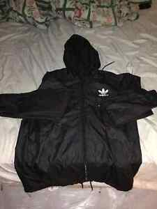 Adidas Black Snake Windbreaker - Medium - Unisex
