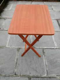 Children's foldable table.