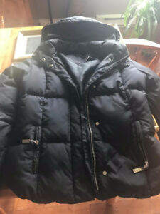 Tommy Hilfiger Women's Black Winter Puff Jacket Size Small Down