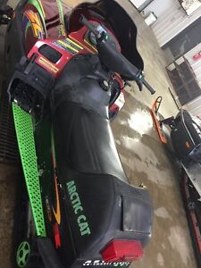 1999 Arctic Cat ZL 600 - Family sled with Reverse Moose Jaw Regina Area image 4