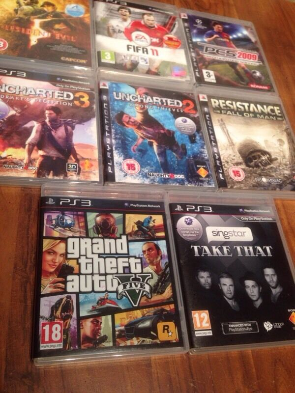 8 PS3 Games for swap or sale