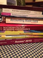 Confederation College office administration books