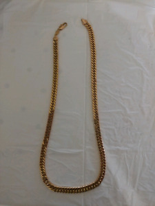 20 inch gold plated chain
