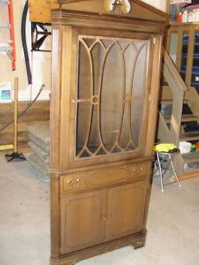 Vintage Krug Corner Cabinet – Great Shape