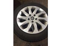 Seat Leon alloys new tyre Michelin