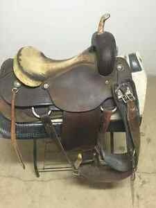 saddle and other horse stuff .