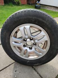 Honda CRV alloy wheel