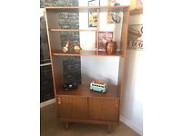 Schreiber Retro Teak Wall Unit, Display Cabinet, Sideboard - CAN DELIVER